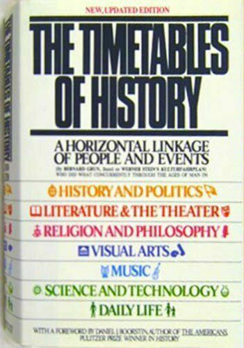 The Timetables of History: A Horizontal Linkage of People and Events, Based on