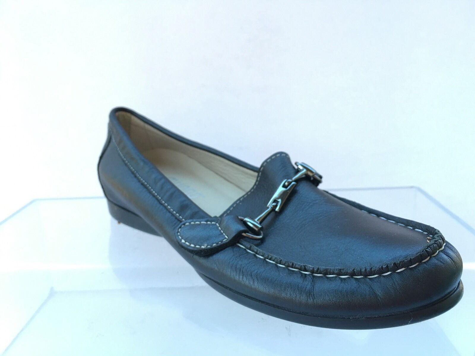 Munro americano Kimi Para Mujer Negro Mocasines Mocasines Mocasines Zapatos Talla 7 N  suministramos lo mejor