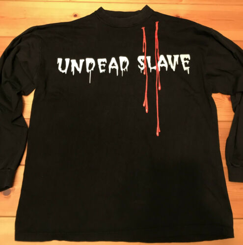 Undead xl camiseta Cradle Of Filth larga de Slave manga qEAOpwAR