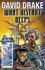 What Distant Deeps (RCN - Lt. Leary) by Drake, David, Good Book