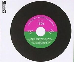 VARIOUS-ARTISTS-100-GREATEST-AUSTRALIAN-SINGLES-OF-THE-60-039-S-USED-VERY-GOOD-C