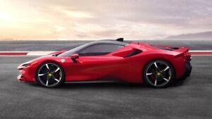 Ferrari-SF90-Stradale-2019-Auto-Car-Art-Silk-Wall-Poster-Print-24x36-034