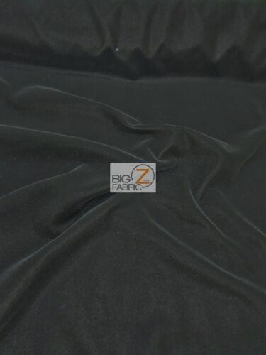 "SOLID TRIPLE VELVET NYLON FABRIC 44/"" WIDTH CLOTHING FASHION DRAPERY CRAFTS"
