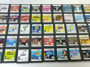 Nintendo DS U Pick Games Choose Cart Only Fun Rare Family Action Puzzle