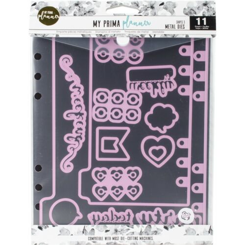 11//pkg My Prima Planner Metal Dies-shapes #3