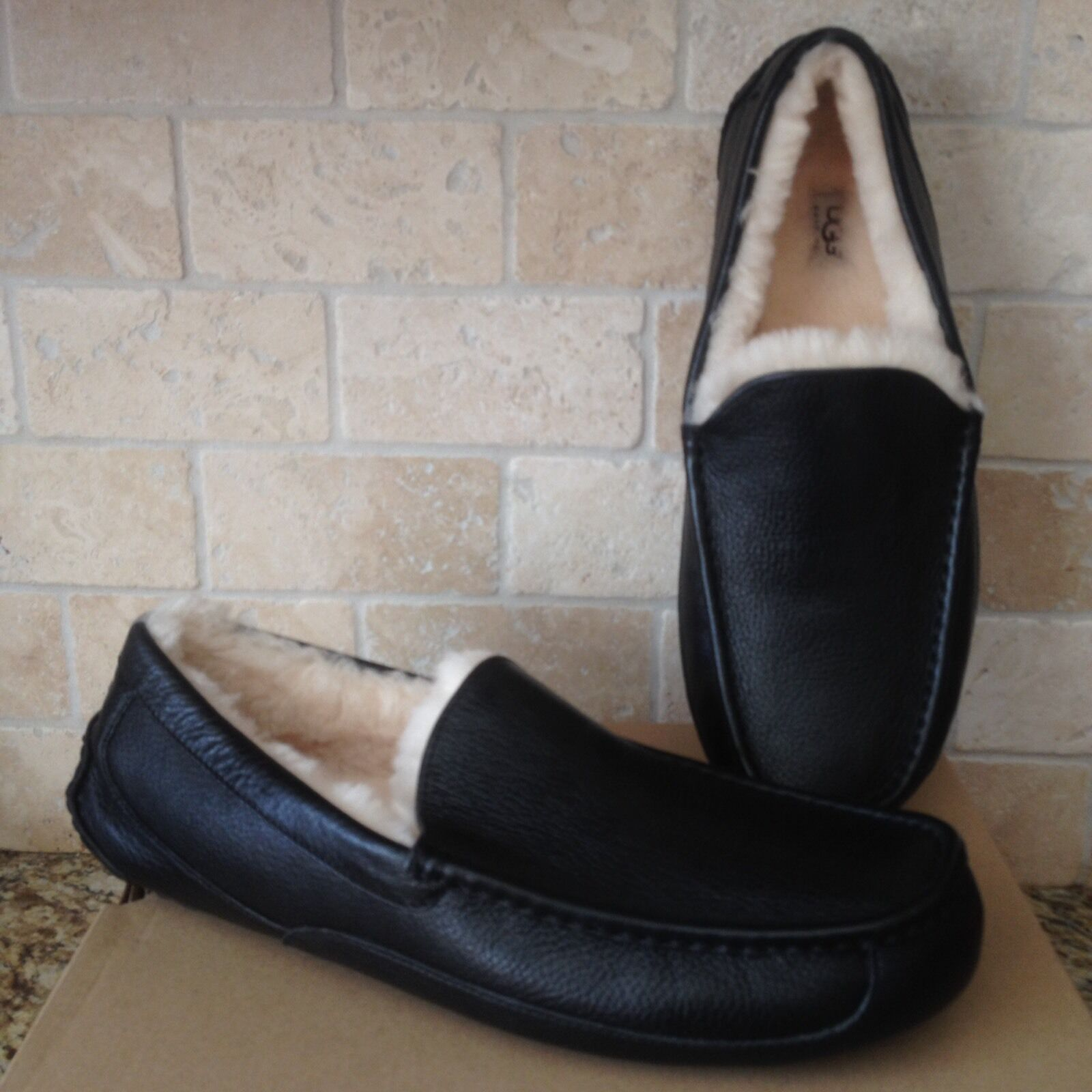 Men's Dunlop Touch Fastening Carpet Slippers UK Size 12 Durable Outer Sole ##