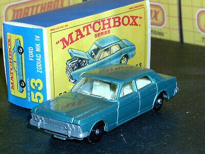 Matchbox No25 Ford Cortina Replica Box