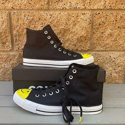 Converse Trainer Men's Classic Black/Yellow/White Lifestyle Canvas Shoes 164423C | eBay