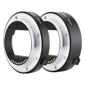 Neewer-Auto-Focus-Macro-Extension-Tube-Set-10mm-16mm-fuer-Sony-NEX-E-Mount-Kamera