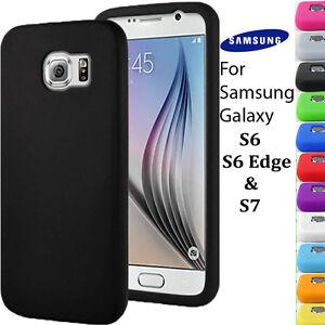 coque galaxy s7 edge silicone unie