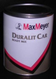 DURALIT-CAR-Vernice-smalto-2K-1000ml-MAX-MEYER-Vespa-originale-moto-auto