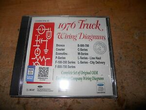 1976 ford f500 750 b c w l series trucks factory wiring diagrams rh ebay ie Ford F-250 Wiring Diagram Ford Ignition System Wiring Diagram
