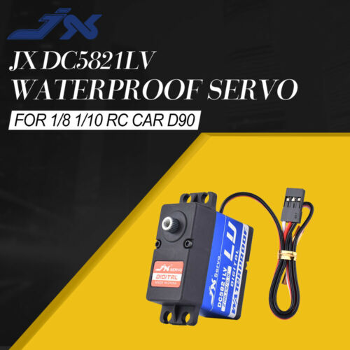 JX DC5821LV Servo 21KG Waterproof Metal Gear for 1//8 1//10 RC Car TRAXXAS TRX-4