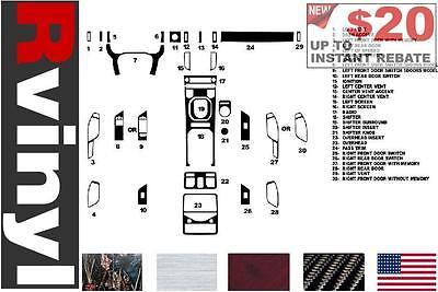 Trim Matte Rdash Dash Kit Decal Trim for Hyundai Sonata 2011-2014 ...