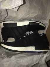 f55ae29b5 adidas NMD R1 Black Blue Tab S31515 Mens Size 10 for sale online