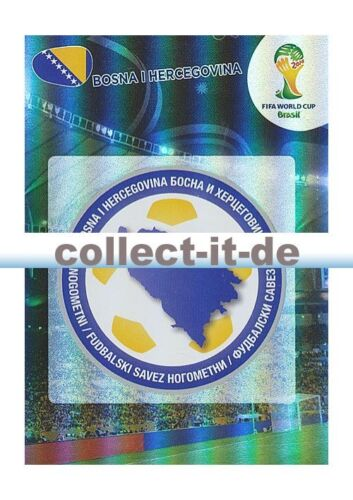 Panini Adrenalyn XL World Cup 2014-37-bosnia herzegovina-logotipo
