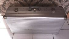 Rimowa Alu Koffer 77 X 44 X 22 Reisekoffer Koffer Silber Kiste Luxus Edel Koffer