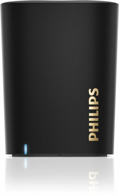 Philips BT100B/00 Wireless Portable Speakers (black) - 9 Months Warranty - Bill