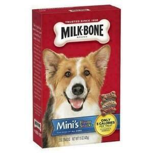 Milk-Bone-Dog-Snacks-Mini-039-s-Flavor-snacks