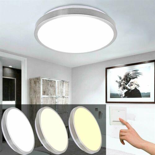 12W-96W LED Deckenleuchte Badleuchte Küche Deckenlampe Dimmbar Wohnzimmer IP44