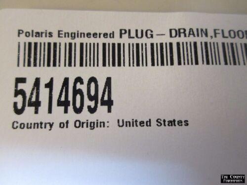 Pure Polaris Floor Drain Plug RZR 1000 RZR 1000 4 RZR 900S RZR900 RZR Turbo L@@K