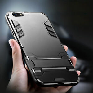 For-OPPO-F5-F1-A59-A83-360-Shockproof-Hybrid-Armor-Kickstand-Rubber-Cover-Case