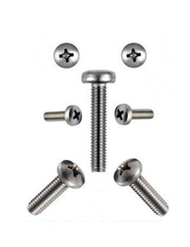 Lens Screws 3 mm m3 DIN 7985 3 x 4 to 3 x 50 Stainless Steel Professional Quality *