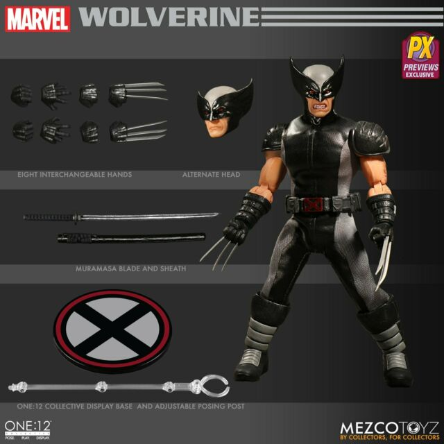 X-Force Wolverine One:12 collective Action Figure-Previews Exclusive