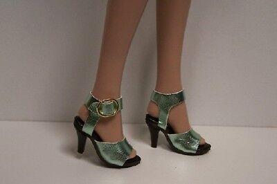 "Hi-Heel LT GREEN Rumba High Heel Doll Shoes FOR 16/"" Tyler Wentworth Debs"