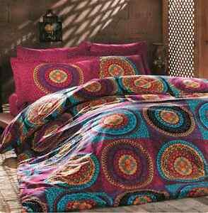 Bedding Set Linen Double Quilt Duvet Cover Mandala Hippie Gypsy