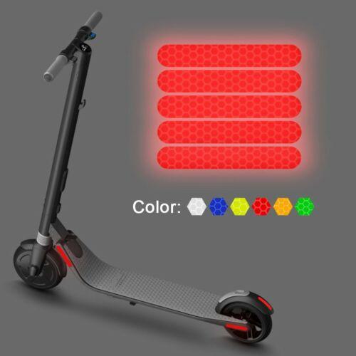 Wasserfest Aufkleber Reflektor Zubehör E-Scooter Nacht Sicherheit Cursor
