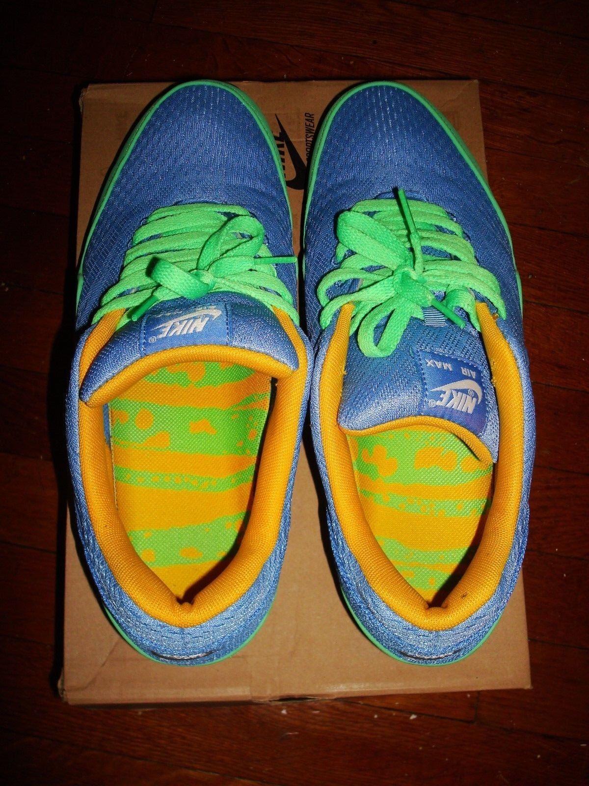 Nike Air Max 1 EM   da Ginnastica/ Ginnastica/ Ginnastica/   10.5/ Green, Blue, Yellow/ 554718 443 66af66