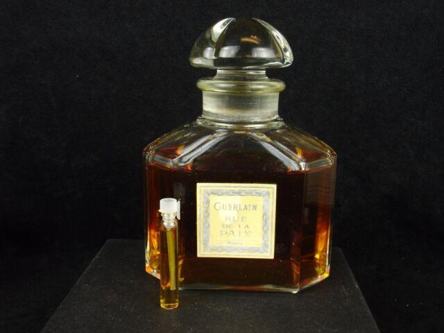 Vintage, 1950's Guerlain Rue De La Paix Parfum Extrait Sample Vial, old formula