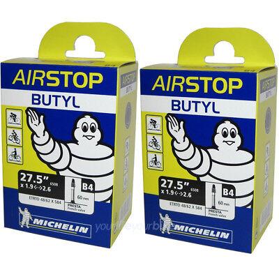"SV 60 mm Michelin Schlauch B4 Airstop 27.5/"" 48//62-584"