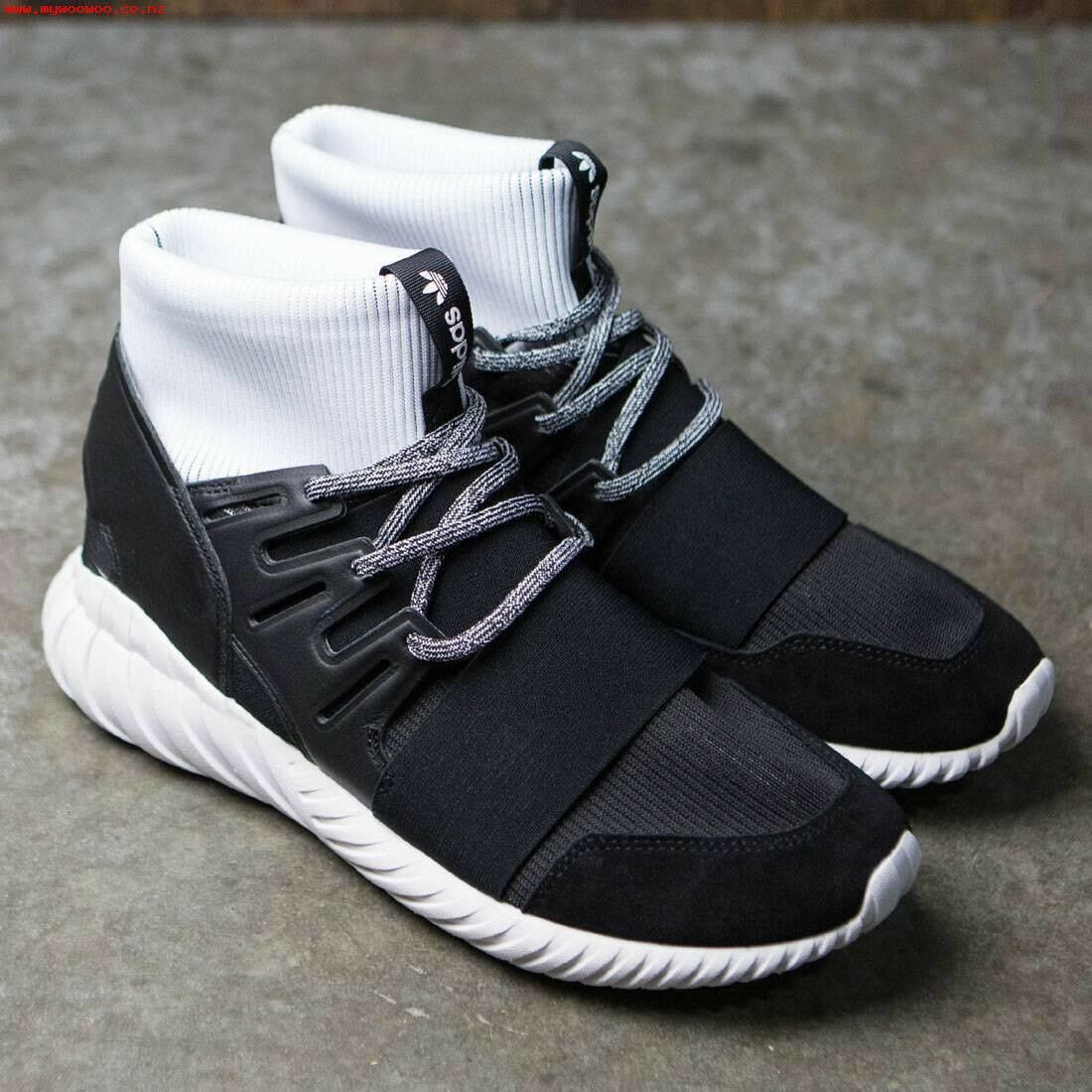 Men's Adidas Tubular Doom Size US Size 10 Boost Nmd Pirate Black Beluga OG Kith