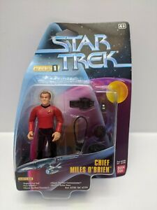 Star-Trek-Chief-Miles-O-039-Brien-Action-Figure-Please-See-Pictures-65106