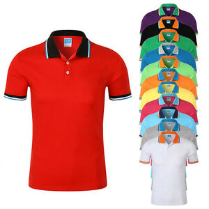 Polo-Shirt-Men-Shirts-Short-Sleeve-Selection-Various-Styles-Colours-Classic-Lot