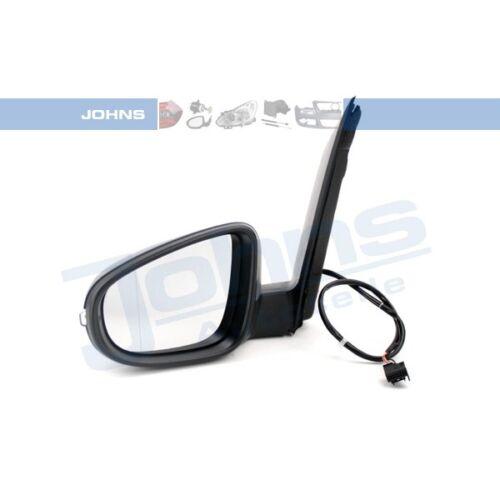JOHNS 95 56 37-21 AUßENSPIEGEL elektrisch mit Spiegelglas links VW TOURAN 1T