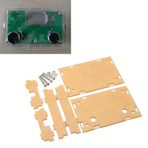 Transparent Acrylic Sheet Housing Case For DSP /& PLL Digital Stereo FM Radio Rec