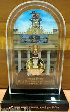 India Republic 2016 2 Coin *VIP Proof Set! Mysore University 100 Years Rs Silver