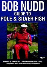 BOB NUDD GUIDE TO POLE & SILVER FISH - MINT DVD - FREE POST IN UK