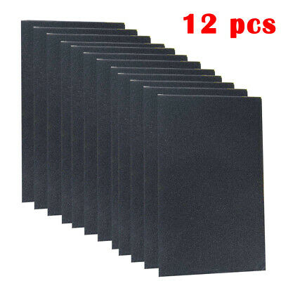 12x 10mm Car Sound Proofing Deadening Noise Reduction /& thermal insulation Foam