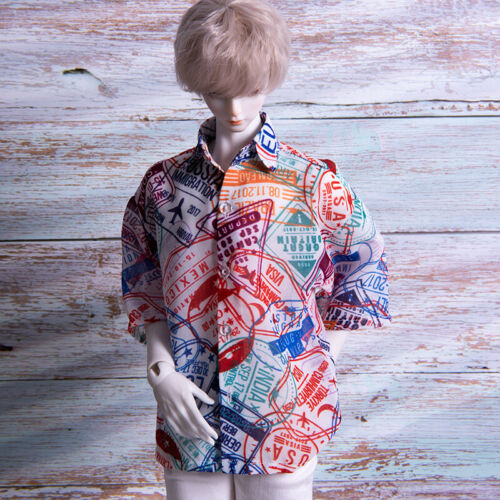 SSDF UncleSD17 1//3 1//4 BJD T-shirt Top Clothes Travel Round The World AOD DOD DZ