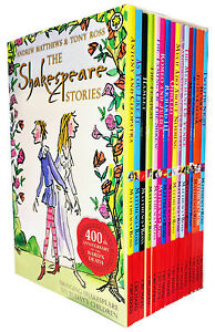 Shakespeare-Children-039-s-Stories-16-Books-Gift-Box-Set-Complete-Collection