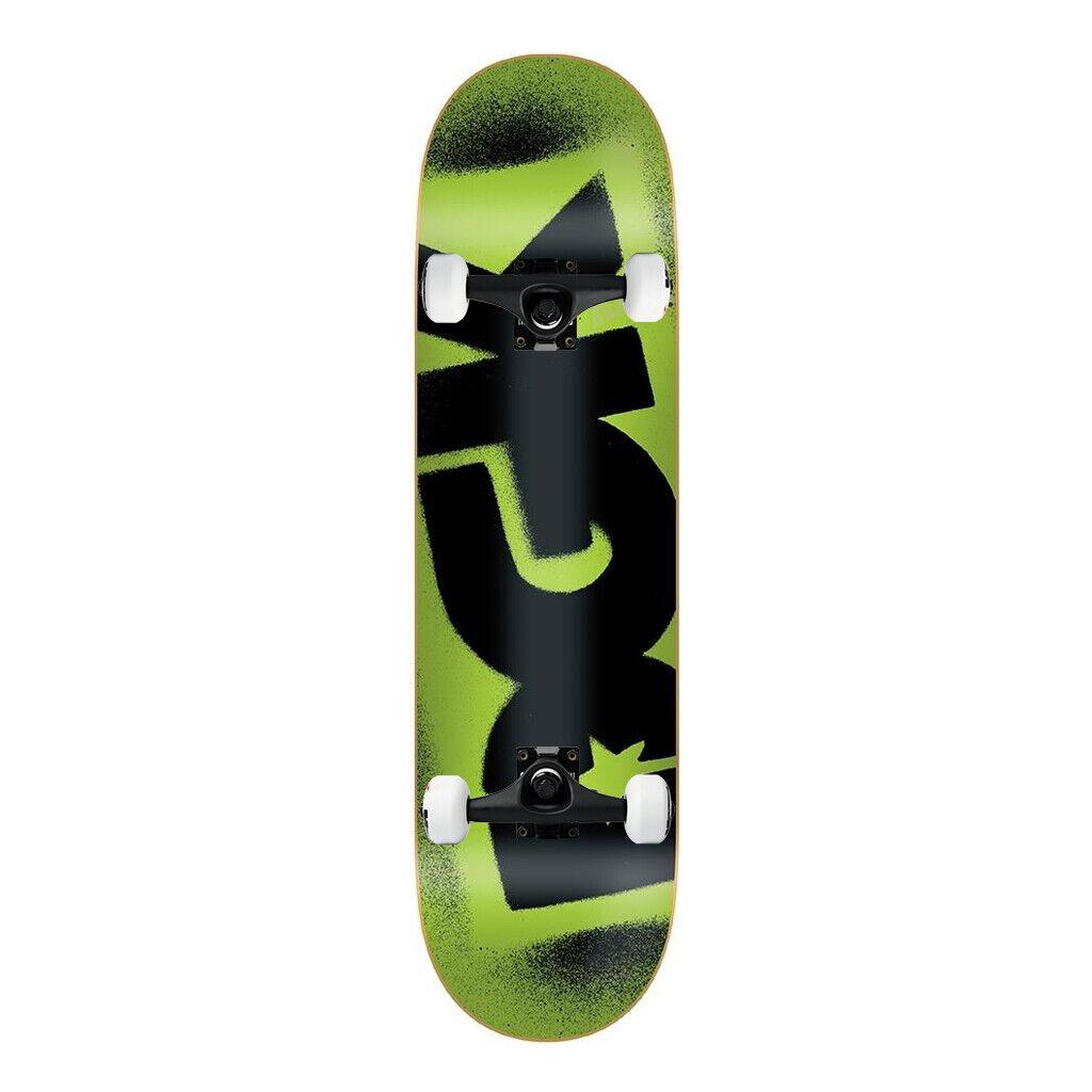 Dgk Patineta Completa Fluorescentes verde 8.06   Negro camiones montado  mejor moda