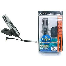 Sony ECM-MS907 Recording Microphone DIGITAL STEREO ECMMS907 Made in Japan
