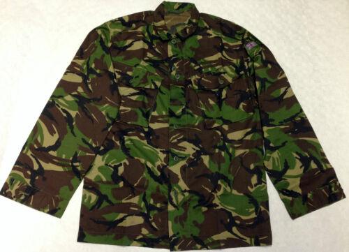 ORIGINAL Brit FELDHEMD Army Flecktarn Angeln Neu!! Woodland DP Jacket COMBAT