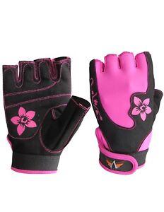 Women-Sports-Racing-Bike-Cycling-Half-Finger-Gloves-Short-Finger-Sport-Gloves