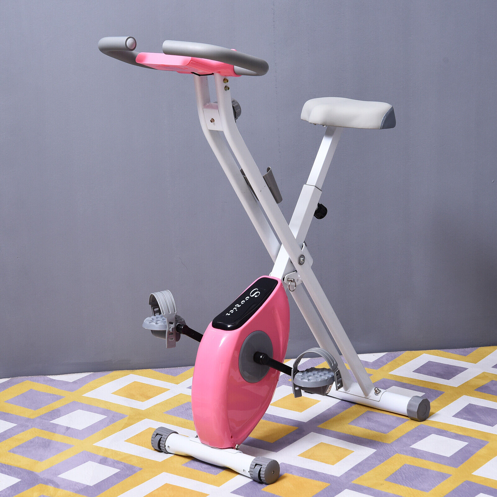 Foldable Exercise Bike  with Adjustable Resistance  quick answers