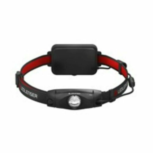 LED LENSER Kopfleuchte schwenkbarer Kopf Rücklicht H4 Black Box 250 lm